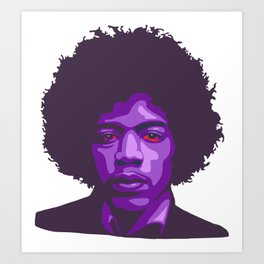 Purple Haze Art Print