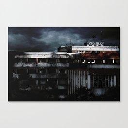 Hospital Abandonado. (Artxanda) Canvas Print