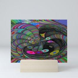 Kinetic Colors 51 Mini Art Print