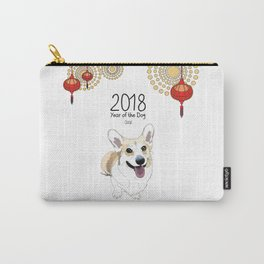 Year of the Dog - Corgi Carry-All Pouch