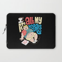 Pizza Veggies Laptop Sleeve