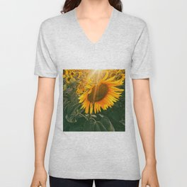 summer in the fields Unisex V-Neck