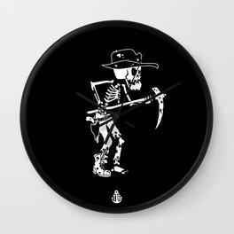 Gold digger Rick Wall Clock