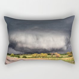 Tornado Day - Storm Touches Down in Northwest Oklahoma Rectangular Pillow