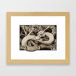 Tree Dragon Framed Art Print