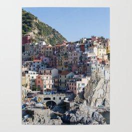 Manarola, Cinque Terre Italy Poster