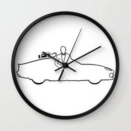 The names seven... db Wall Clock