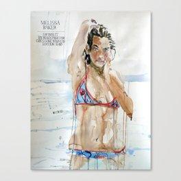 Melissa Baker Canvas Print