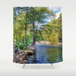 The Guadalupe Shower Curtain