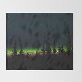 Auroras II Throw Blanket