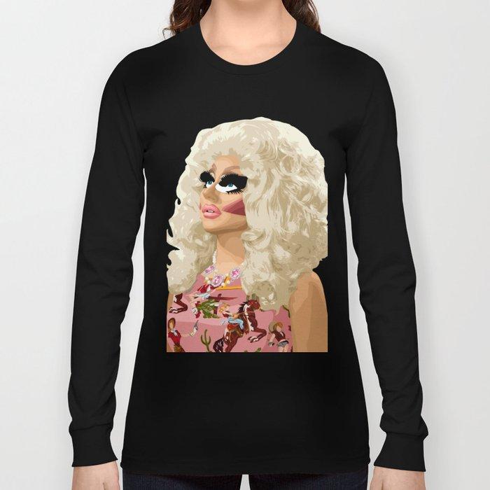 Trixie Mattel, RuPaul's Drag Race Queen Long Sleeve T-shirt