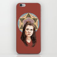 annie hall iPhone & iPod Skins featuring Annie by mycolour
