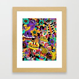 McNugget Dreaming Framed Art Print
