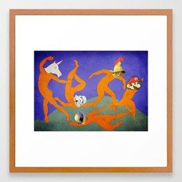 Harlem Shake Framed Art Print