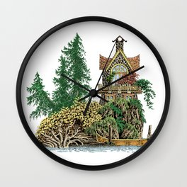 MY ISLAND RETREAT Wall Clock