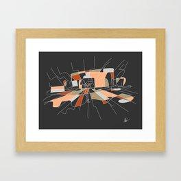 Close Perspective Framed Art Print