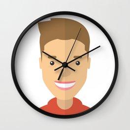 Justin Biber Wall Clock