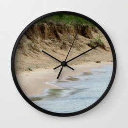 Lake Michigan Shoreline Wall Clock