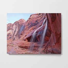 Product of a Storm Metal Print