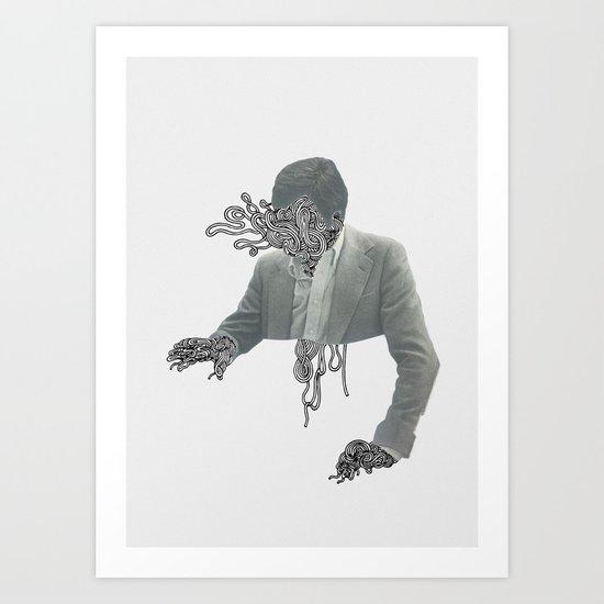UNRAVELLING Art Print