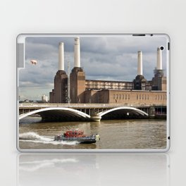 Battersea Power Station with Pink Floyd Pig Laptop & iPad Skin