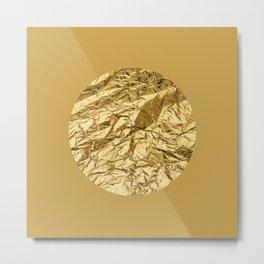 GOD, GOLD! Metal Print