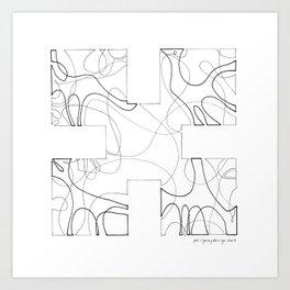animorph 02 - growth Art Print