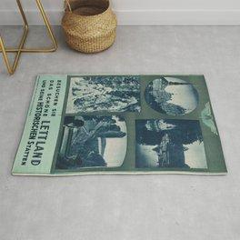 Vintage poster - Lettland Rug