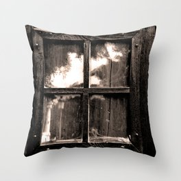 Ventana al pasado Throw Pillow
