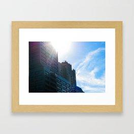 Boston Daylight Framed Art Print