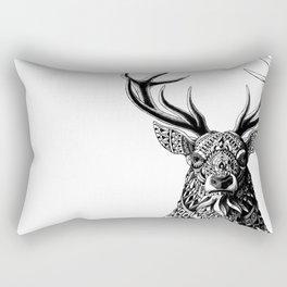 Ornate Buck Rectangular Pillow