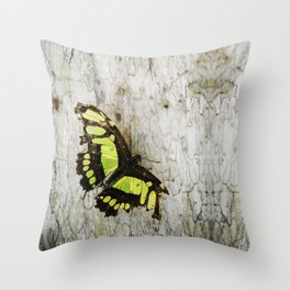 damaged, not broken Throw Pillow