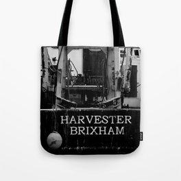 Harvester Brixham Fishing Boat Tote Bag