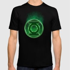 Green Lantern Spectre Black Mens Fitted Tee SMALL