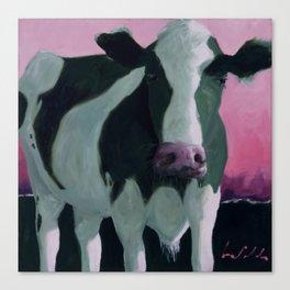 Naples Cow Canvas Print