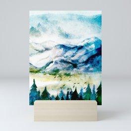 Mountain Landscape Mini Art Print
