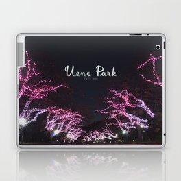 Night view in Ueno Park Laptop & iPad Skin