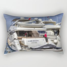 Sunseeker 78 Yacht Rectangular Pillow