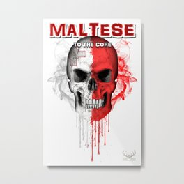 To The Core Collection: Malta Metal Print