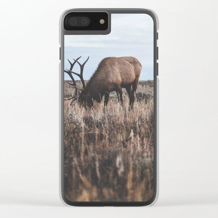 Elk Clear iPhone Case