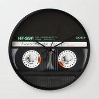 targaryen Wall Clocks featuring cassette classic mix by neutrone