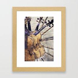 Classic Violins Framed Art Print