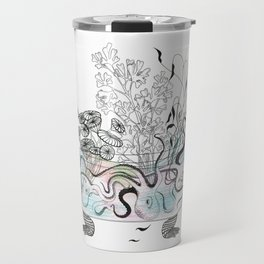 Octopus bathtub. Travel Mug