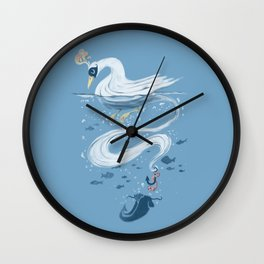 Fishin' Wall Clock