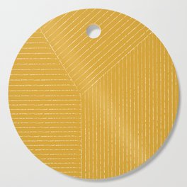 Lines / Yellow Cutting Board