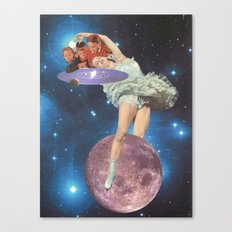i am the cosmos Canvas Print