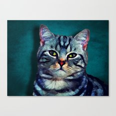 Cat #cat #kitty Canvas Print