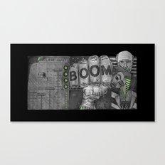 Tomb of Boom Canvas Print
