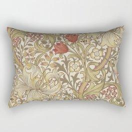 William Morris Golden Lily John Henry Dearle Rectangular Pillow