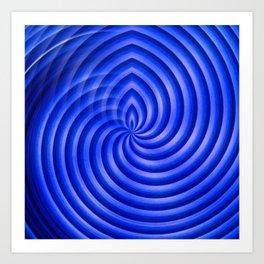 Stop spinning Art Print